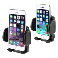 Cell phone Holder - Windshield Mount  compatible with HTC PPC6800, Black