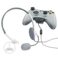 Headset  compatible with Microsoft Xbox 360 Slim, White