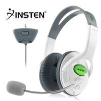 Headset w/ Microphone  compatible with Microsoft Xbox 360, White