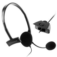 xBox 360 Headset  compatible with Microsoft Xbox 360 Slim, Black