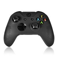 Silicone Skin Case compatible with Microsoft Xbox One Controller, Black