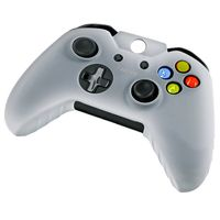 Silicone Skin Case compatible with Microsoft Xbox One Controller, White