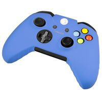 Silicone Skin Case compatible with Microsoft Xbox One Controller, Blue