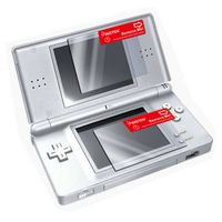 Reusable Screen Protector (2 pc)  compatible with Nintendo DS Lite, Clear
