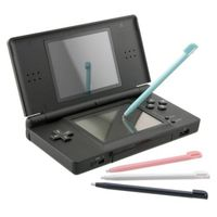 Plastic Stylus (4 pc)  compatible with Nintendo DS Lite, Black/ Blue/ Pink/ White