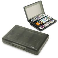 28-in-1 Game Card Case  compatible with Nintendo 3DS, Smoke