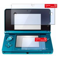2 pc Reusable Screen Protector  compatible with Nintendo 3DS, Clear