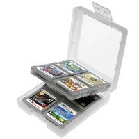 Game Card Case 16-in-1  compatible with Nintendo DS Lite, White