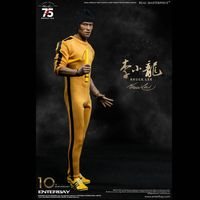 Enterbay 1/6 Scale Bruce Lee 75th Anniversary Action Figure, RM-1127