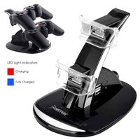 Dual Charge Station w/ Stand  compatible with Sony PlayStation 3 (PS3), Black