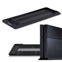 Vertical Console Stand compatible with Sony PlayStation 4 (PS4), Black