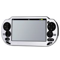 Aluminum Case  compatible with Sony PlayStation Vita PCH-1000 (PS Vita), Silver