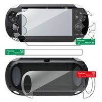 Full Body Reusable Screen Protector  compatible with Sony PlayStation Vita PCH-1000 (PS Vita)