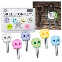 Fred & Friends Glow Skeleton Keycaps