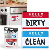 FRED Flipside Hello Dishwasher Sign