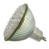 MR16 White Light Bulb, 48 LED 2.4W