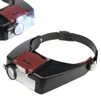 Headband Magnifying LED Light Glass for Precision Instruments Repairing and Jewellery Appraisal