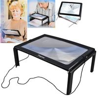 Magnifying LED Light Glass for Reading, Black