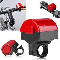 Electronic Bicycle Alarm Bell, Red