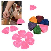 100-piece Multi-color Guitar Picks