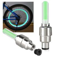 2-piece set Car/Bicycle LED Tyre Light,  Green