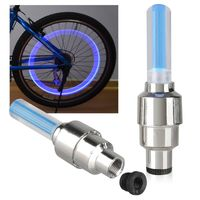 2-piece set Car/Bicycle LED Tyre Light, Blue