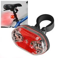 Bicycle Rear Lamp, 9 LED