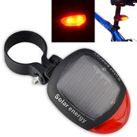 Bicycle Solar Power Rear Lamp, 2 LED