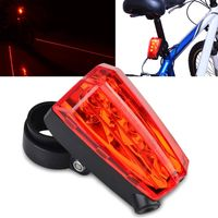 Bicycle Rear Lamp, 5 LED