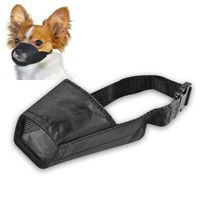Size 2 Fabric Dog Muzzle, Black