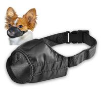 Size 3 Fabric Dog Muzzle, Black