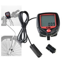 Wired LCD Digital Cycle Computer Bicycle Speedometer