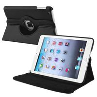 360-degree Swivel Stand Leather Case  compatible with Apple® iPad® mini, Black