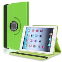 360-degree Swivel Leather Case  compatible with Apple® iPad® mini, Green