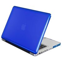 Snap-in Case compatible with Apple MacBook Pro, Clear Dark Blue