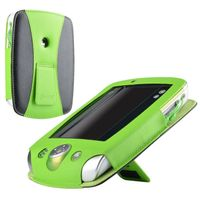 Leather Case  compatible with LeapFrog® LeapPad 2, Black/ Green