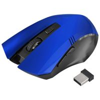 2.4G Wireless Optical 6D Button Game Mouse, Blue