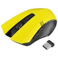 2.4G Wireless Optical 6D Button Game Mouse, Yellow