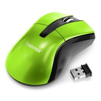 2.4G Wireless Optical Game Mouse, Green