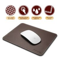 Leather Mouse Pad, Brown