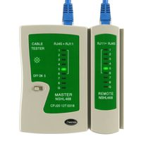 Cable Tester compatible with RJ45 / RJ11