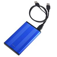 2.5-inch SATA HDD Enclosure, Blue Version 2