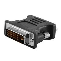 DVI to VGA M/F Adapter, Black