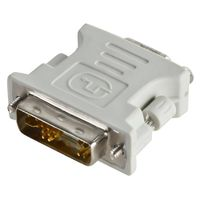DVI-A Male to VGA Female Adapter, White