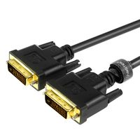 3-feet DVI-D Male/ Male Digital Dual Link Cable