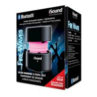 i.Sound Fire Waves Bluetooth Speaker, Black
