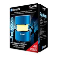 i.Sound Fire Waves Bluetooth Speaker, Blue