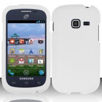 Rubberized Cover compatible with Samsung S738G/S730g/S740C, White RP