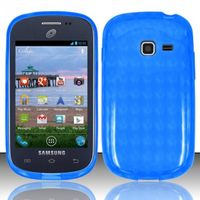 TPU Candy Case compatible with Samsung S738G/S730g/S740C, Blue