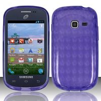 TPU Candy Case compatible with Samsung S738G/S730g/S740C, Purple